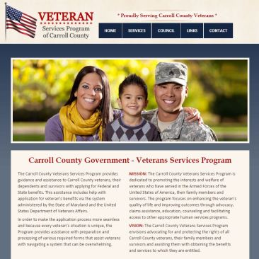 Veteran Services Program Website