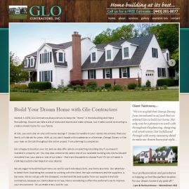 Glo Contractors Website
