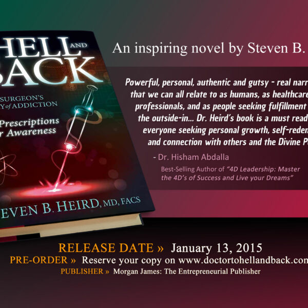 To Hell And Back Book Promo Custom Postcard Design by Website GURL