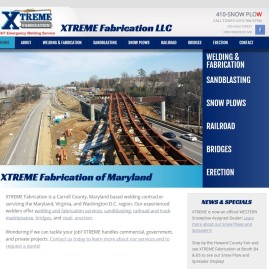 XTREME Fabrication Website