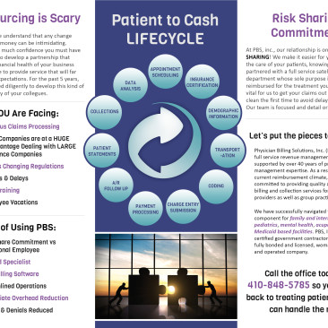 Physician Billing Solutions Brochure Design