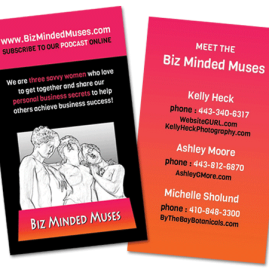 Biz Minded Muses Business Card
