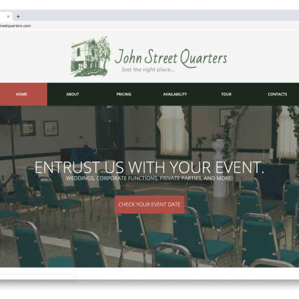 John Street Quarters WordPress Website by Website GURL