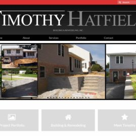 Timothy Hatfield Building & Remodeling Website