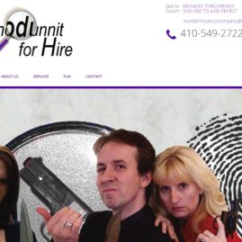 Whodunnit for Hire Website