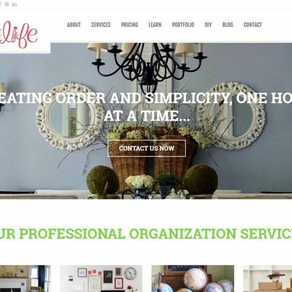 In Order For Life WordPress Website by Website GURL