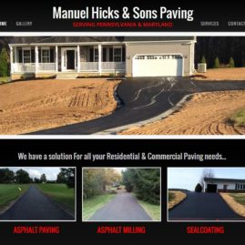Manuel Hicks & Son's Paving