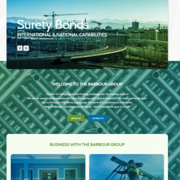 The Barbour Group Website