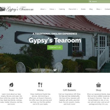 Gypsy's Tearoom Website