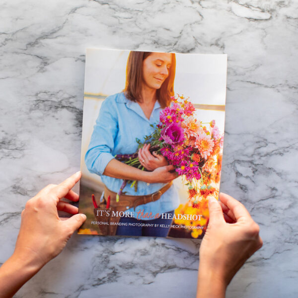 Kelly Heck Photography's Promotional Magazine for Personal Branding Portraiture