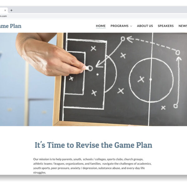 Revising The Game Plan GoDaddy Website Builder Project