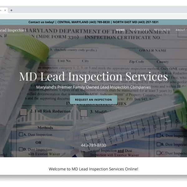Maryland Lead Inspection of Taneytown MD Website GURL